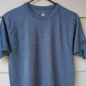 🌻$10 SALE Plain Grey Russell T Shirt Small